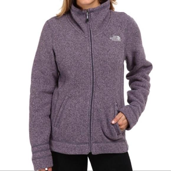 020f3421878 The North Face Crescent Full Zip Fleece Jacket